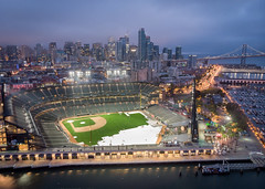 AT&T Park (A Sutanto) Tags: att park sf san francisco giants baseball stadium ballpark mlb blue hour morning dawn