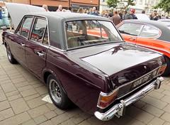1968 FORD CORTINA MK2 1600 E 1598cc UYE75F (Midlands Vehicle Photographer.) Tags: 1968 ford cortina mk2 1600 e 1598cc uye75f