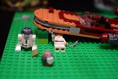 69 (dalokoshru) Tags: lego starwars r2d2 luke skywalker porg lukeskywalker