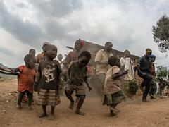 Batwas dancing at Lake Bonyonyi (thomas.reissnecker) Tags: natgeo natgeotravel ngc uganda africa pygmy batwas