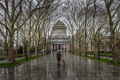 Grant's Tomb, Rainy Day (Steve Rosenbach) Tags: nyc manhattan riversidepark grantstomb memorials