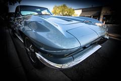 C2 (1966) Chevrolet Corvette Stingray (Photos By Clark) Tags: subjects california vehicles location canon1740 canon5div northamerica unitedstates locale places where escondido us lightroom chevrolet corvette stingray blue nik colorefx restored classic collectable