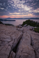 Sardinian Sunrise (Stefano.Pruni) Tags: sardinia italy italia sunrise alba early morning landscape photography seascape lines horizon wide portoconte capocaccia
