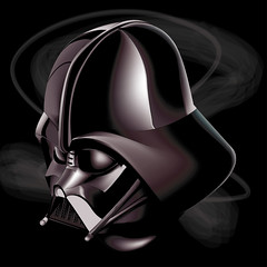 Darth (arnoutouthuis) Tags: darth vader adobe illustrator design arnout outhuis graphic star wars net drawing digital painting