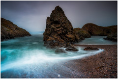 Swelling with Pride (Augmented Reality Images (Getty Contributor)) Tags: nisifilters benro canon cliffs clouds coastline horizon landscape longexposure morayshire portknockie rocks scotland seascape water waves