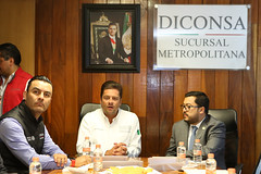 VISITA DEL MINISTRO DE DESARROLLO SOCIAL DE GUATEMALA, CARLOS VELÁSQUEZ MONGE A LA SUCURSAL METROPOLITANA. (diconsa_mx) Tags: diconsa metropolitana sedesol director desarrollo social