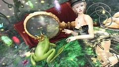 #149 Firefly and Frog Prince@'The FROG PRINCE' / Enchantment (lizumelody) Tags: enchantment secondlife sl frog prince konpeitou lessucreriesdefairy dahlia mooh thehalfmoonmarket lagom static lassitude hucci tram c88