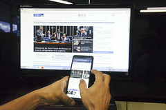 Portal de Notícias do Senado (Senado Federal) Tags: bie fakenews manipulaçãodedados internet notíciafalsa legislação marcocivildainternet lei129652014 crime códigopenal lei127372012 pls1692017 plc1862017 lei136422018 plc182017 scd22018 pls6182015 pls4732017 rededecomputadores regulação eleições2018 redessociais computador celular proteçãodedadospessoais brasília df brasil bra portaldenotícias site agenciadenotícias smartphone