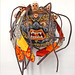 Masque du Bhoutan (musée d'ethnographie, Neuchâtel, Suisse)