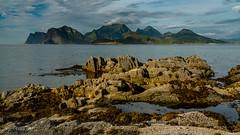 Mijasundet (Norway) (christian.rey) Tags: nordland norvège no mijasundet eggum vestvagoya lofoten island paysage landscape coastline mountains montagnes mer rochers rocks sony alpha a7r2 a7rii 24105