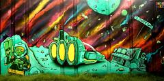 graffiti in Eindhoven (wojofoto) Tags: eindhoven nederland netherland holland berenkuil stepinthearena graffiti streetart wojofoto wolfgangjosten uno narcoze