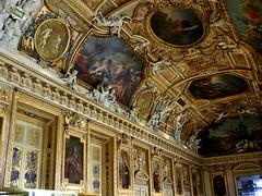 P5310455 (photos-by-sherm) Tags: galerie gallery dapollon louvre museum paris france summer art paintings ceilings statues tourists