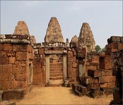 Angkor, Eastern Mebon Temple 20180203_102526 DSCN2613 (CanadaGood) Tags: asia seasia asean cambodia siemreap angkor eastmebon temple towerbuilding architecture archaeology canadagood 2018 thisdecade color colour hindu khmer