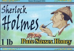 Sussex Honey label by Reggie Musgrave