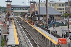 New New Wyandanch Sta Coming Along (EdEddieEdward) Tags: wyandanch ny li lirr