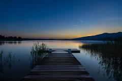 August lights (d_deb) Tags: acqua lago estate luoghi pusiano paesaggi tramonti lake landscape