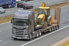 T18 WGW (panmanstan) Tags: scania ng s650 wagon truck lorry commercial stepframe transport freight haulage vehicle a1m fairburn yorkshire