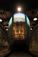 MSI Pioneer Zephyr Obs Car (jsmatlak) Tags: chicago railroad train museum msi burlington zephyr observation car streamliner