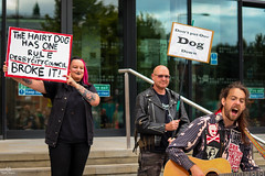 Save The Hairy Dog - 14/08/2018 (samward1507) Tags: streetphotography protest photojournalism savethedog canon200d canon 50mm nifty50 candid peace music poetry politics activism thehairydog derby city love