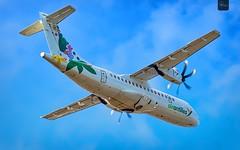 Air Antilles | F-OIXH | ATR 42-500 | BGI (Terris Scott Photography) Tags: atr 42 500 air antilles aircraft airplane aviation plane spotting nikon d750 tamron 70200mm f28 travel barbados