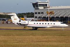 J.C. Bamford Excavators Ltd Gulfstream 6 M-JCBB EMA 26/06/18 (bhxflights) Tags: gulfstream gulfstream6 jcb bizjet egnx ema eastmidlandsairport eastmidlands airport business