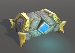 Chest - Textured Game Asset in Unity - Single Object (Aloe [Alli Keys]) Tags: