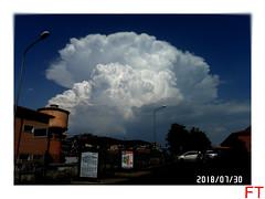 Cumulonembo romano (triziofrancesco) Tags: nuvole nubi cielo clouds cumulonembo ciampino