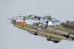 DSC_9764 (CEGPhotography) Tags: 2018 reading ww2 ww2weekend wwii wwiiweekend airshow midatlanticairmuseum pa history b25 b25mitchell mitchell bomber