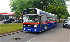 1956 (WDA 956T) ((Stop) The Clocks) Tags: 1956 wmpte leyland leylandfleetline wda956t birmingham acocksgreen westmidlandstravel