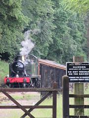 5541 tresspass (jbtevans) Tags: dean forest railway steam loco locomotive preserved engine train heritage parkend lydney junction norchard severn wye western midland 5541 gwr small prairie tank collett
