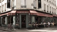 66, Rue de la Roquette (pepsamu) Tags: paris parís france francia shopfront café coffee restaurante restaurant bastille bastilla canon canonistas street calle terraza terrace sign 60d 2018 facade fachada façade