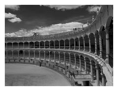 Devoid of people horses and bulls (AurelioZen) Tags: europe spain andalucia ronda arena olympusmzuiko918mmedf4056