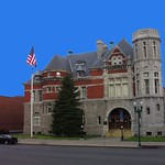 Auburn New York ~ Old Post Office and Courthouse ~ Historical Site thumbnail