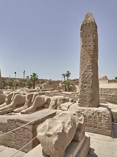 Obelisco de Seti II, Templo de Karnak, Luxor, Egipto