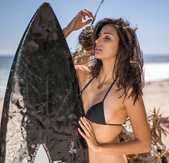Beautiful Brunette Swimsuit Bikini Surf Model Goddesses! Pretty Portraits & Headshots Photoshoot! Nikon D810! Athletic Action Portraits of Swimsuit Bikini Models!  Athena and Aphrodite!  Sony A7 R & Sony Sonnar T* FE 55mm f/1.8 ZA Lens SEL55F18Z ! (45SURF Hero's Odyssey Mythology Landscapes & Godde) Tags: beautiful brunette swimsuit bikini surf model goddesses pretty portraits headshots photoshoot nikon d810 athletic action models athena aphrodite sony a7 r sonnar t fe 55mm f18 za lens sel55f18z