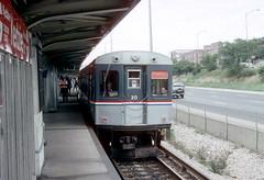 CTA 20 Kedzie fantrip Sep 93 (jsmatlak) Tags: chicago cta l elevated subway metro rapid transit train electric railway
