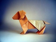 Dog - Sergey Yartsev (Rui.Roda) Tags: origami papiroflexia papierfalten chien perro cachorro cão dog sergey yartsev