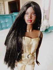 Barbie Selma Reroot (zadolls) Tags: mold molde face new hair reroot selma aa collector barbie