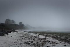 Gulf Stream Hotel. (Aby Images) Tags: canon eos 100d 1855mm beach bretagne britanny finistere brouillard mist greentides maréesvertes pollution