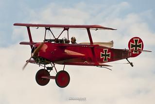 OK-UAA90 Fokker DR.1 Triplane (replica)