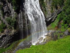 Narada Falls at Mt. Rainier NP in WA (Landscapes in The West) Tags: mountrainiernationalpark washington pacificnorthwest landscape trail hike west naradafalls