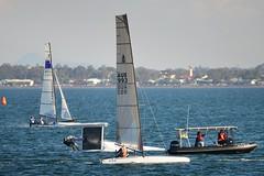 800_4825 (Lox Pix) Tags: queensland qld australia catamaran trimaran hyc humpybongyachtclub winterbash loxpix foilingcatamaran foiling bramblebay sailing race regatta woodypoint boat
