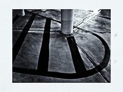 A Day At The Garage (RadarO´Reilly) Tags: parken parkig parkhaus garage sw bw monochrome noiretblanc blanconegro zwartwit iphone hipstamatic verkehr traffic bochum bermuda3eck nrw germany