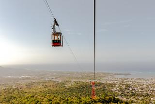 Teleferico Puerto Plata Cable Car.