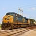 3/3 CSX 732 Leads WB Military Equipment Midland, KS 8-11-18