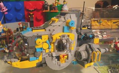 Workin' on a ship (Tim.Deering) Tags: lego space wip spaceship