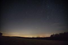 Sternenhimmel und Sternschnuppe (clemensgilles) Tags: magic sternschnuppe perseiden perseids astrofotographie nachtfotografie night deutschland eifel sternenhimmel starlight germany beautiful
