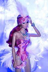 SHOWGIRL VANESSA (@rafazapatta) Tags: fashionroyalty outsassvanessaperrin showgirl vanessaperrin integritytoys lightroom pink rafazapatta samsungnx