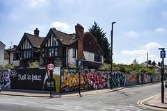 Portland Road, South Norwood (London Less Travelled) Tags: uk unitedkingdom england britain london south norwood croydon southlondon city urban suburb suburbia street shop graffiti art
