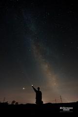 Milchstraße über Meerane (silbermann_fotografie) Tags: nikon nikond700 d700 vollformat vollformatsensor tokina tokinalense tokina1735mm weitwinkel weitwinkelobjektiv bcmasters stativ tripod neewer neewertrigger milchstrase milkyway sterne stars perseiden sternschnuppen fallingstars langzeitbelichtung longtimeexposer